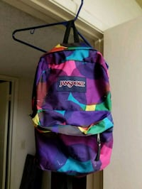 purple, green, and pink Jansport backpack Fresno, 93726