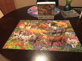 Playing Dogs Puzzle