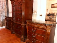 Bedroom set tall boy and two nightstands Kissimmee, 34744