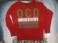 New Women's Large Ugly Christmas sweater 1 km