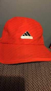 Orange adidas hat Kamloops, V2C 6S4