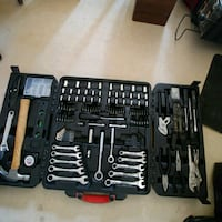 stainless steel hand tool kit with black case Edmonton, T5H 4H3