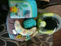 baby's blue and green bouncer Ceres, 95307