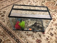 10 gallons fish tank. It comes with  all accessories: lid, heater, filter, sand and decorations Austin, 78741