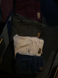 4 pairs of garage jeggings (some never worn)$15 each or $50 for all