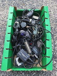 Large Lot of Retro Video Game Cords NES N64 PS2 Sega Dreamcast Xbox Mt Prospect, 60056