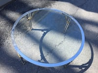 Glass circular coffee table Ijamsville, 21754