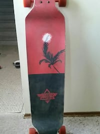 Duster drop deck long board and extra deck