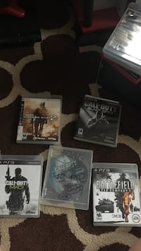 four assorted PS3 game cases Rockville, 20853