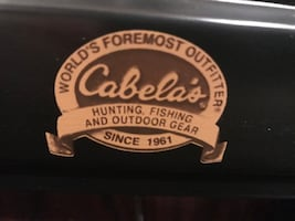 Cabela's folding card table and chairs