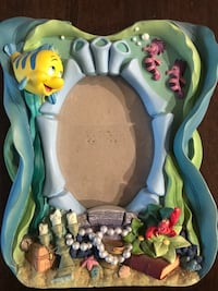 Little mermaid Disney photo frame collectables  Coquitlam, V3K 3X7