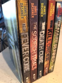 The Maze Runner series boxed set (5 books) Fort Worth, 76244