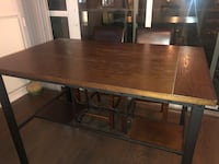 Kitchen Island/Pub Style Table (wine/glass storage) Toronto, M5H 1W7