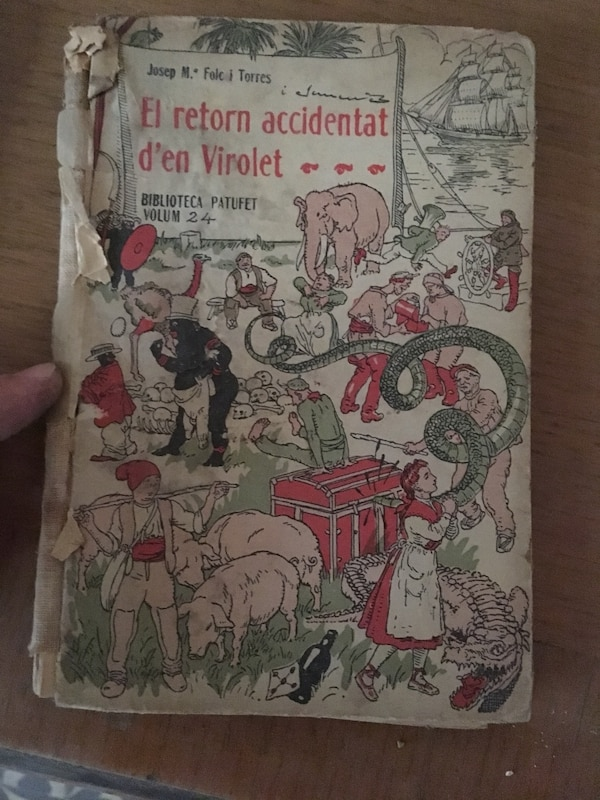 Libro el Retorn accidentat d'en Virolet
