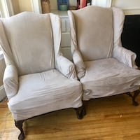 Beige chair set Portland
