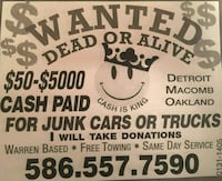 towing and junk car removal