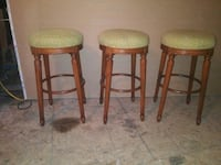 """bar chairs 28"""" high these are really nice comfortable chairs... Paterson, 07522"""