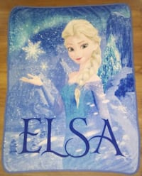 Disney Frozen Elsa - Throw Blanket Kelowna