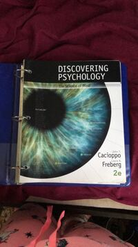 Discovering Psychology book