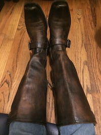 Only once I wore .Elegant frye boots New York, 10029