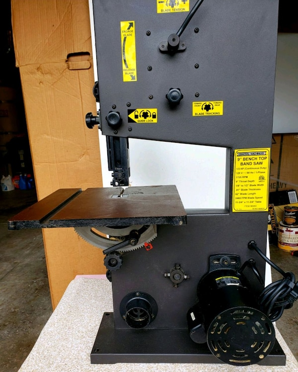 Used 9 Benchtop Band Saw For Sale In Walnut Creek Letgo