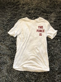 nike the force is female tee. brand new. small   Peterborough, K9H 4W2