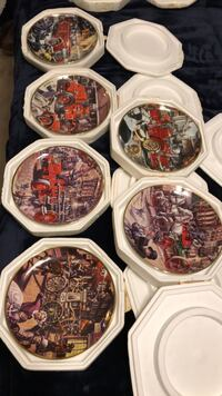 antique fire engines collectible plates-6 Voorhees, 08043