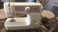 white and gray Brother electric sewing machine Apollo Beach, 33572