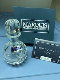 Waterford Marquis Crystal Perfume Bottle New In Original Box Miami Lakes, 33014