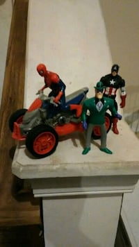 spiderman,Captain America,and riddler  and vehicle  Baltimore, 21228