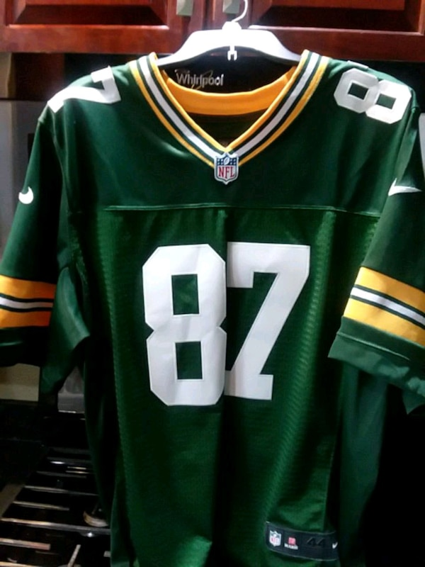 low priced 0a9e8 be5ae Nike m green bay packer Jordy Nelson jersey