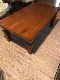 Solid cherry wood coffee table from Restoration Hardware Baltimore, 21214