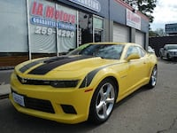 2015 CHEVROLET CAMARO SS-2 *FR $699 DOWN GUARANTEED FINANCE 7,700 COLLECTOR MILES Des Moines