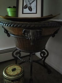 Philippines  antique round end table  Calgary, T2N