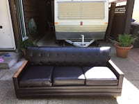 Vintage REAL LEATHER Pull-out Burnaby, V5A 4C9