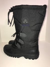 New Women's Kamik Insulated Winter Boots (Black,8) Milton, L9T 4K1