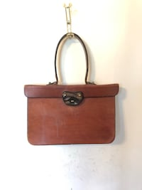 Vintage Mahogany Leather Briefcase Purse Arlington, 22205