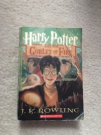 Harry Potter and the Goblet of Fire Book  Aldie, 20105