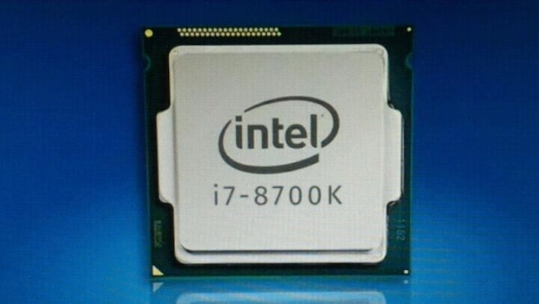 ???? Процессор Intel cpu Core i7-8700 Oem, Socket lg