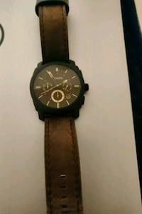 Fossil Mens gold and brown watch. Mint condition Mississauga, L5L 1B1