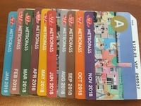 Most of 2018 TTC monthly pass Whitchurch-Stouffville, L4A 0L7