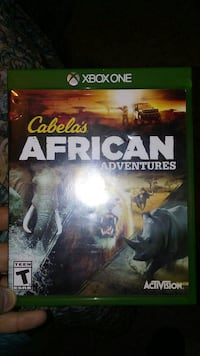 Cabela's African Adventures Xbox One game case