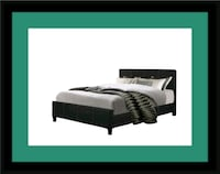 King platform bed with mattress Bowie