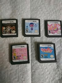 5 Nintendo DS games 20 for all 5 Troutville, 24175