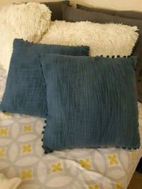 Blue pier one import pillows  Mississauga, L5N
