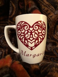 Personalized heart mug Coral Springs