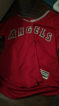 mike trout jersey womans medium NWT Winchester, 92596