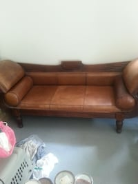 Antique Buffalo Skin Couch & Chair Trent Hills, K0L
