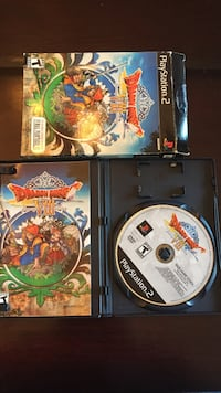 Ps2 dragon quest viii: journey of cursed king