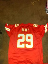 Kansas city jersey.    Berry # 29 Dresden, 43821